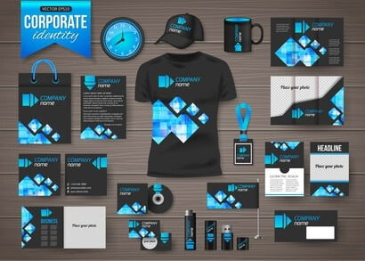 Corporate identity business.