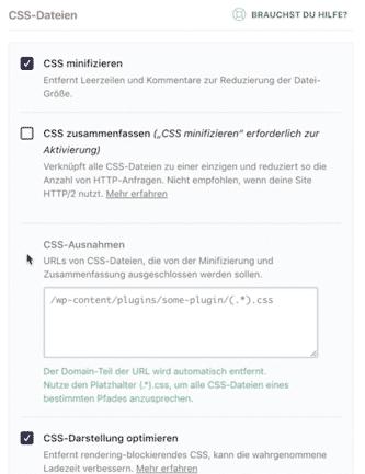 CSS Минимизировать