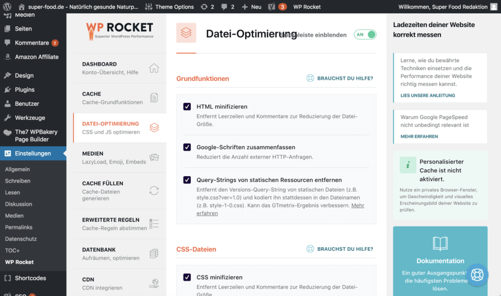 wp-rocket-dashboard